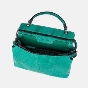 Удобная зеленая женская сумка ATS-3595 236516