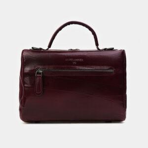 Модная бордовая женская сумка ATS-3467 236530