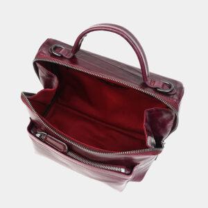 Модная бордовая женская сумка ATS-3467 236531