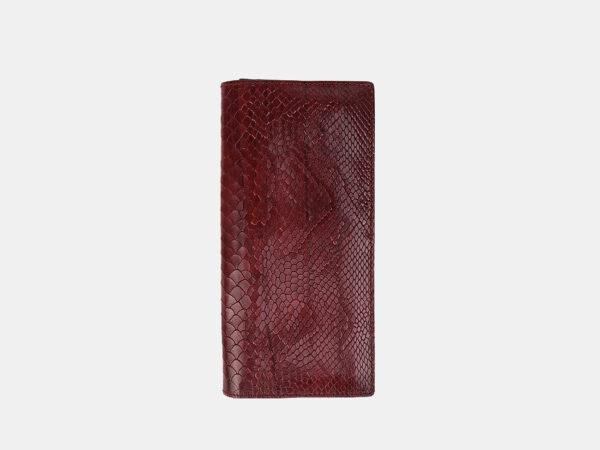 Стильный бордовый кошелек ATS-3491