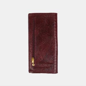 Стильный бордовый кошелек ATS-3491 236367