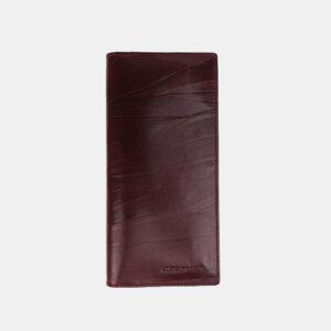 Уникальный бордовый кошелек ATS-3489