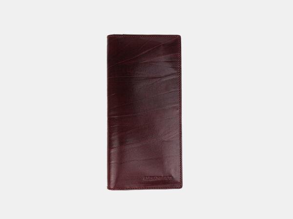 Стильный бордовый кошелек ATS-3489