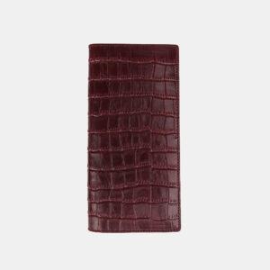 Кожаный бордовый кошелек ATS-3490