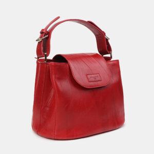 Вместительная красная женская сумка ATS-2949 235754