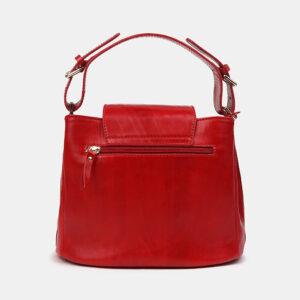 Вместительная красная женская сумка ATS-2949 235755
