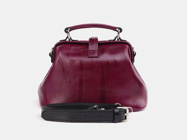 Вместительная бордовая женская сумка ATS-3698