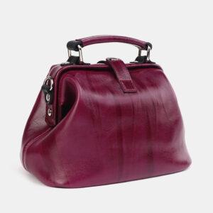 Вместительная бордовая женская сумка ATS-3698 236509