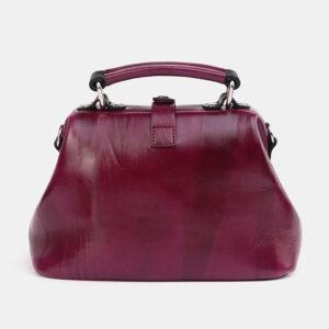 Вместительная бордовая женская сумка ATS-3698 236510