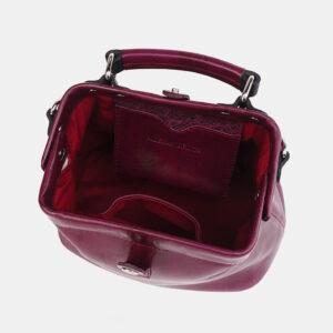 Вместительная бордовая женская сумка ATS-3698 236511