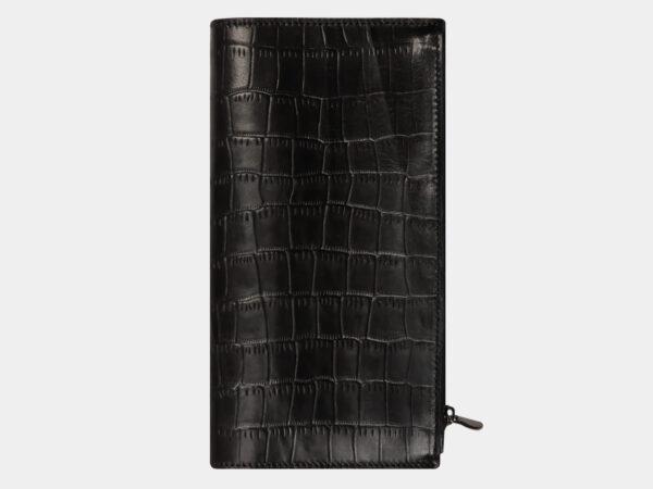 Модный черный портмоне ATS-1589