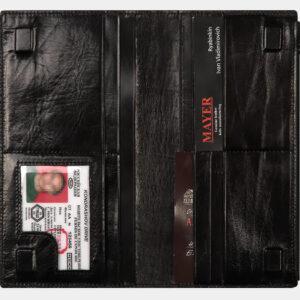 Модный черный портмоне ATS-1589 233040