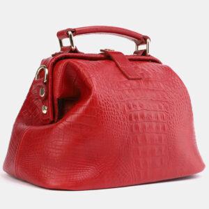 Солидная красная женская сумка ATS-4041 232845
