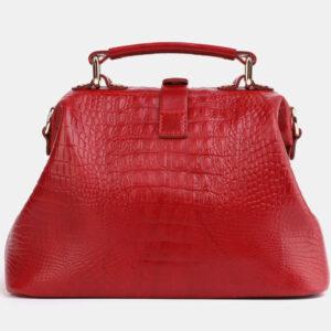 Солидная красная женская сумка ATS-4041 232846
