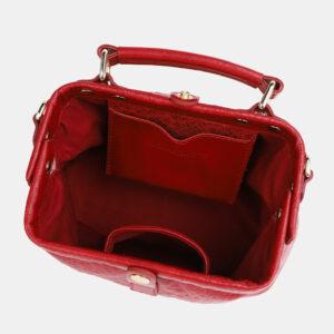 Солидная красная женская сумка ATS-4041 232847