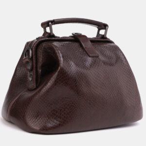 Солидная коричневая женская сумка ATS-4042 232840