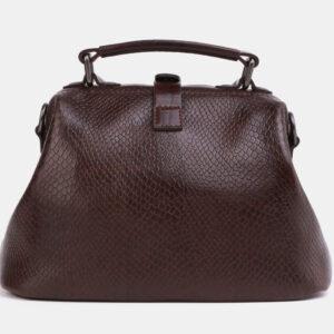 Солидная коричневая женская сумка ATS-4042 232841