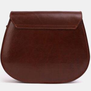 Кожаный светло-коричневый женский клатч ATS-4043 233245