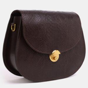 Модный коричневый женский клатч ATS-4046 233229