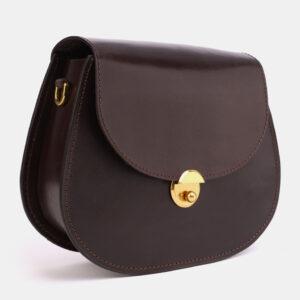 Солидный коричневый женский клатч ATS-4045 233234