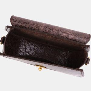 Солидный коричневый женский клатч ATS-4045 233236