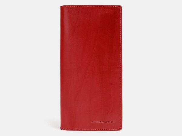 Стильный красный кошелек ATS-4038