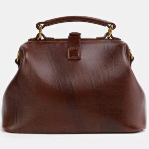 Стильная светло-коричневая сумка с росписью ATS-4060 233198