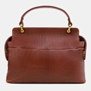 Удобная светло-коричневая сумка с росписью ATS-4062 233188