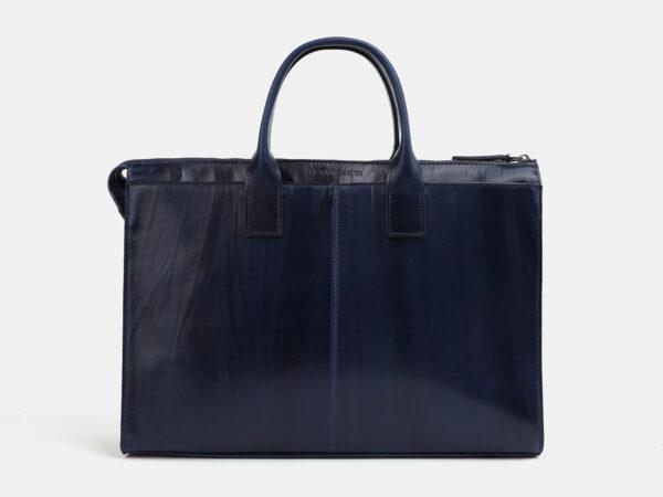 Солидный синий мужской портфель ATS-4057