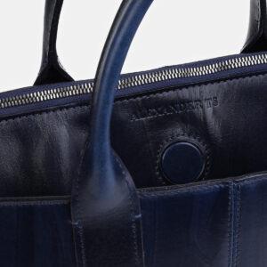 Солидный синий мужской портфель ATS-4057 233215