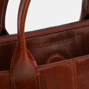 Функциональная светло-коричневая женская сумка ATS-4065 232826