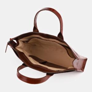 Функциональная светло-коричневая женская сумка ATS-4065 232825