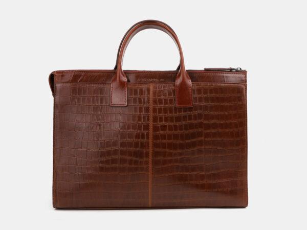 Вместительный светло-коричневый мужской портфель ATS-4064