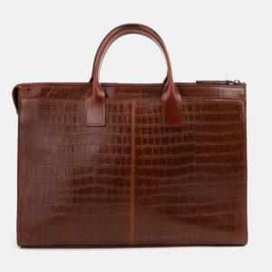 Стильная светло-коричневая женская сумка ATS-4066