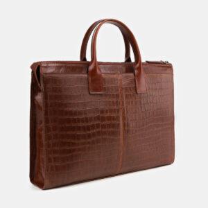 Вместительный светло-коричневый мужской портфель ATS-4064 232828
