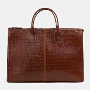 Вместительный светло-коричневый мужской портфель ATS-4064 232829