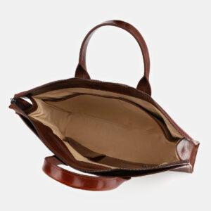 Стильная светло-коричневая женская сумка ATS-4066 232819