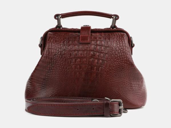 Солидная светло-коричневая женская сумка ATS-4071