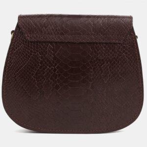 Вместительный коричневый женский клатч ATS-4074 232792