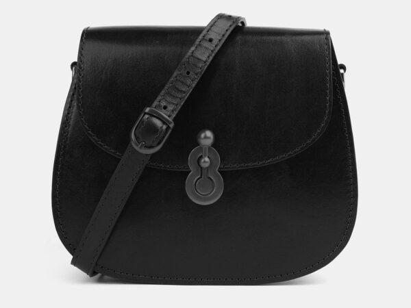 Удобный черный женский клатч ATS-4077