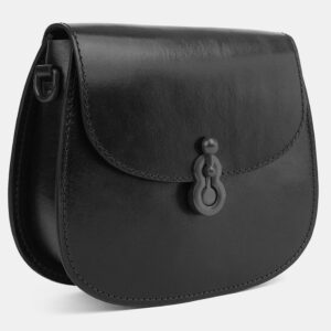 Удобный черный женский клатч ATS-4077 232776