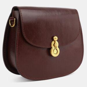 Деловой коричневый женский клатч ATS-4075 232786