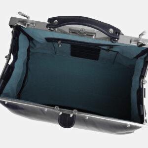 Кожаный синий саквояж ATS-4067 232813