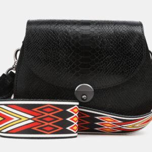 Солидный черный женский клатч ATS-4080