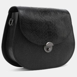 Солидный черный женский клатч ATS-4080 232909
