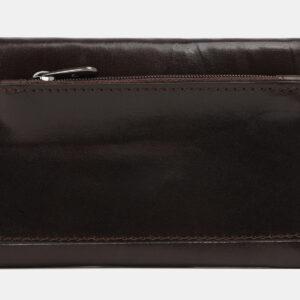 Кожаный коричневый кошелек ATS-4081 232906