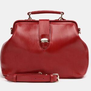 Удобная красная женская сумка ATS-3807