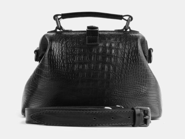 Модная черная женская сумка ATS-4091