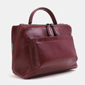 Вместительная бордовая женская сумка ATS-3843 232963