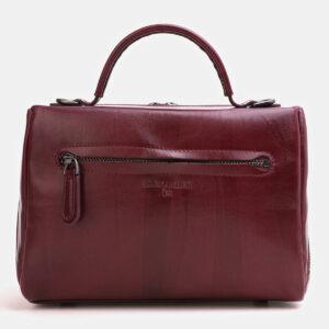 Вместительная бордовая женская сумка ATS-3843 232964